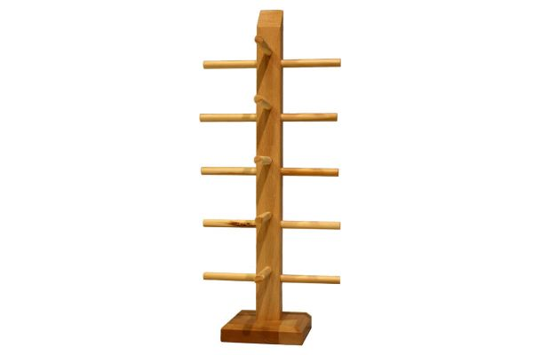 Bamboo Display for 5 sunglasses